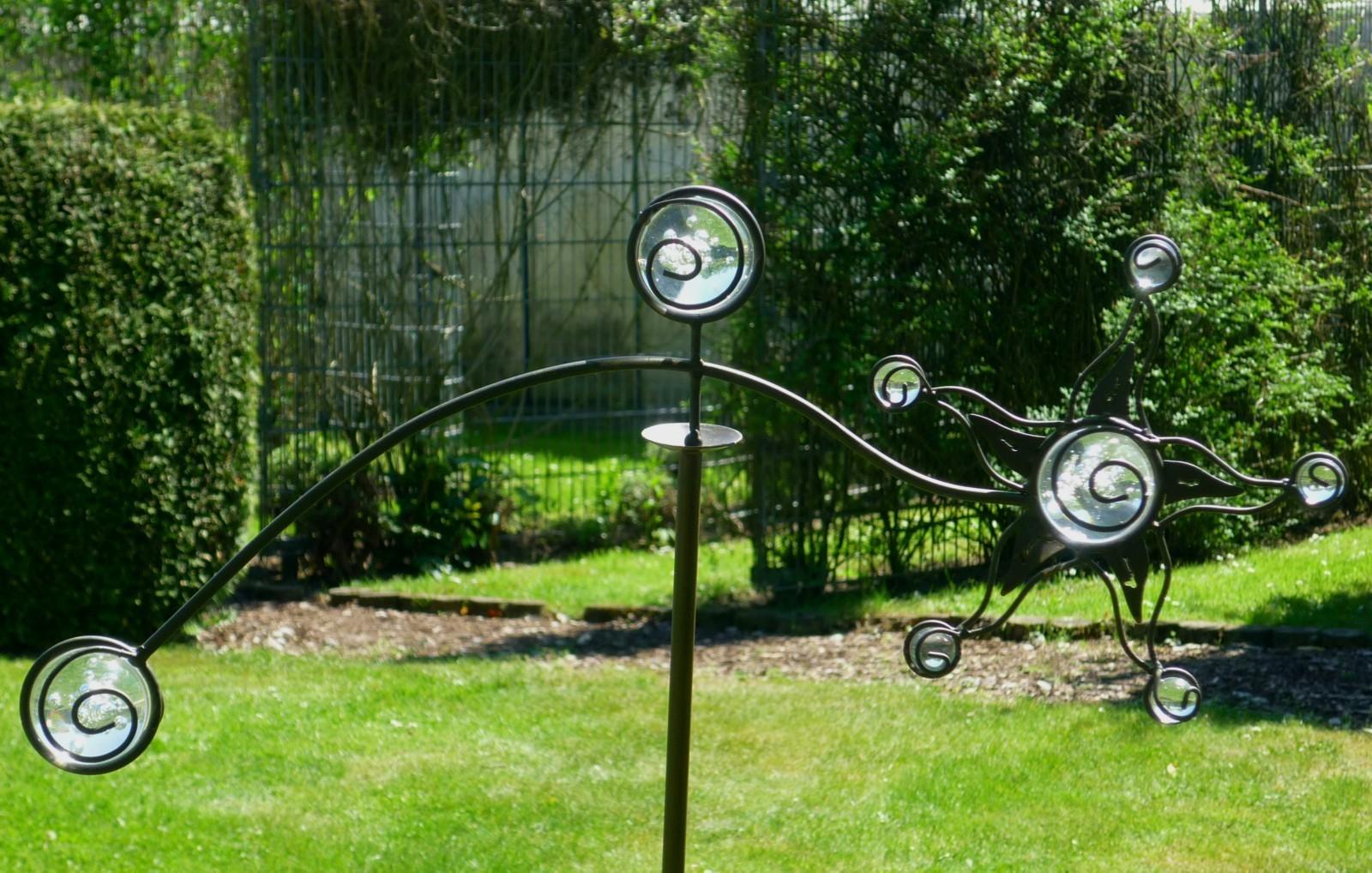gartendeko glaskugeln – msglocal, Gartengestaltung