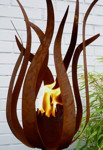 edelrost dekoration garten – bankroute, Garten ideen